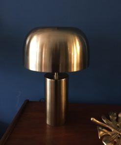 Tischlampe brass